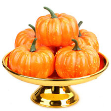 New 1Pc Artificial Lifelike Simulation Fake Mini Pumpkins Vegetable Home Decor