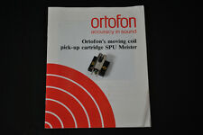 "Ortofon SPU Meister GE MC Cartridge ""ELLIPTICAL DIAMOND STYLUS"""
