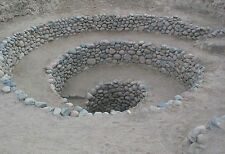Framed Print - Entrance to the Puquios Near Nazca Peru (Picture Ancient Aliens)