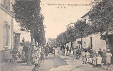 CPA 95 FRANCONVILLE BOULEVARD DE LA MAIRIE
