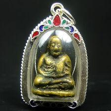 Luang Phor Ngern Buddha, wat Bangkhlan phichit Phim Niyom ,yr 2450-2460 ,Amulet
