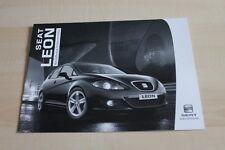 138423) Seat Leon - technische Daten & Ausstattungen - Prospekt 05/2007