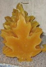 Maple Leaf Candle--3 Dimensional--Yellow--Absolutly Beautiful
