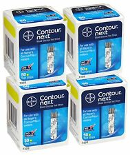 200 Bayer Contour Next Diabetic Test Strips - Exp: 8/2017 - FREE SHIPPING!