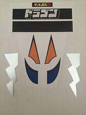 Mattel Dragun Jumbo Machinder Shogun Warrior Sticker/Decals - VINYL (3rd Ed)