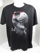 Mens X Large T rex T-Shirt Goodie Two Sleeves 100% Cotton Printed in USA