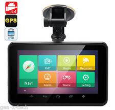 7 Inch Android 4.4 Car GPS Navigator + DVR + Tablet: Touchscreen: FM transmitter