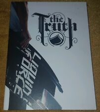 THE TRUTH RARE OOP DVD WAKEBOARDING MAGAZINE 2006 LIQUID FORCE CRAZY TRICKS HTF!