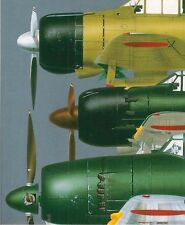 CAMOUFLAGE & MARKINGS IJN FIGHTERS Mitsubishi ZERO More! Model Art 510 Book