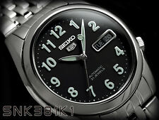Seiko 5 Men's SNK381K1 Stainless Steel Automatic 21 Jewels Day Date Watch