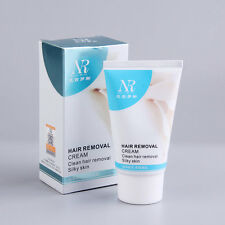 Unisex Herbal Permanent Hair Removal Cream Stop Hair Growth Inhibitor Remover AB