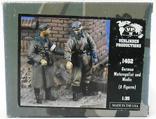 Verlinden 1402 | German Motorcyclist and Medic (2 Fig.) _ Resin | 1:35 -NEU-
