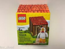 LEGO Minifigure Easter Iconic Easter 5004468 Chicken Suit Guy Coop Box Exclusive