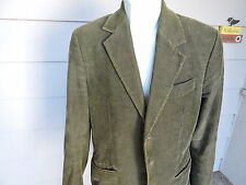 Juicy Couture Undercover Genius Green Corduroy Jacket Size 42 (large)