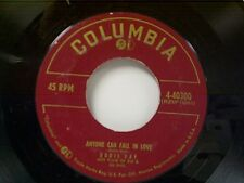 """DORIS DAY """"ANYONE CAN FALL IN LOVE / IF I GIVE MY HEART TO YOU"""" 45"""