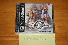 Threads of Fate (PS1 PSX Playstation) NEW SEALED BLACK LABEL Y-FOLD MINT, RARE!