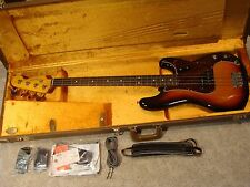 Fender American Vintage 62 Reissue Precision Bass Near Mint Pro Setup! WORLDWIDE