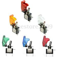 12V 20A Car Truck Cover LED Light SPST Toggle Rocker Switch Control On/Off 2Pins
