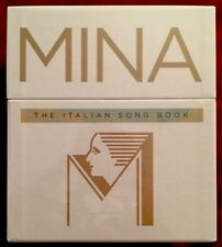 NEW Sold Out - Mina The Italian Song Book CD Collection