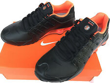 Nike Shox NZ 378341-006 Black Metallic Crimson Marathon Running Shoes Men's 11