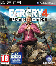 Far Cry 4 Edición Limitada Ps3 * Nuevo Sellado Pal *