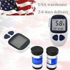 Home Care Blood Glucose Monitor Diabetes Meter Electronic Glucometer Fast test Z