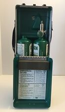 *VTG LIF-O-GEN No. 555 Twin Pack EMERGENCY OXYGEN Breathing Made USA. Ba11143