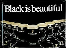 cartolina miniatura Guinness Black is Beautiful