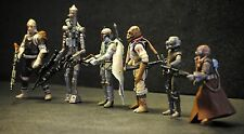 Star Wars ESB Vintage Retro Bounty Hunter Lot Boba Fett IG-88 Dengar Bossk 4-LOM