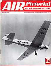 Air Pictorial 1958 January Martinsyde,Corsair,Curtiss XP-55