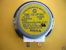 LG MICROWAVE OVEN TURNTABLE MOTOR MS3444DPS, MS3445DPS, MS3446VR, MS3446VRB