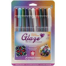 BASICS Gelly Roll Glaze Bold Point Pens 10/Pkg Gel Pens by Sakura