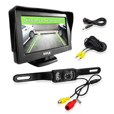 NEW Pyle PLCM46 4.3'' LCD Monitor w/ Backup Night Vision Camera System