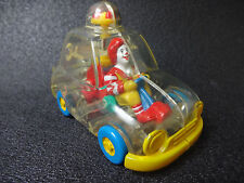 Rare! Toy Vintage 1996 Japan McDonald's Transparency Mini Car Collectible Old