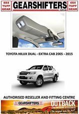 OUTBACK ACCESSORIES ROOF CONSOLES 4X4 TOYOTA HILUX DUAL EXTRA CAB UTES 2005 2015