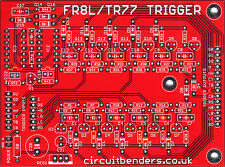 circuitbenders ROLAND TR77 / Bentley Rhythm Ace FR8L trigger interface PCB - DIY