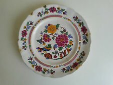 ANTIGUO PLATO DE PORCELANA PONTESA IRONSTONE ESPAÑA CHINA MODA