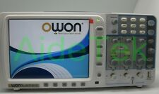 lowest noise OWON 100Mhz Oscilloscope SDS7102V 10M deep memory 4000mAH battery