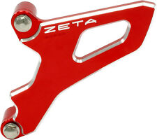 Zeta Red Front Sprocket Cover For Yamaha YZ 250 99-16, YZ 250 F 01-13