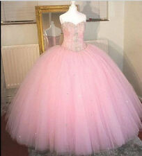 New Bridal Gown Ball Gown Formal Prom Party Quinceanera Pageant Dress Custom