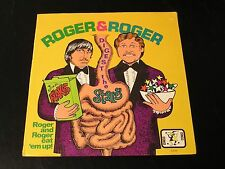 Roger & Roger Digest The Stars - RARE 1970's Comedy LP - SEALED!