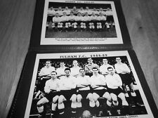 Fulham FOOTBALL CLUB ALBUM FOTO (1950's +)