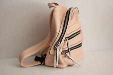 MARC JACOBS 'Domo Biker' Leather Backpack Mini Arigato Packrat - Pearl Blush