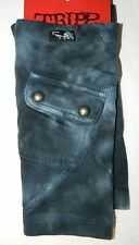 NWT TRIPP Blue INDIGO Washed ARM WARMERS  New $25