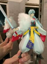 Sesshomaru & Inuyasha lotto di 2 action figure pvc 19 cm circa