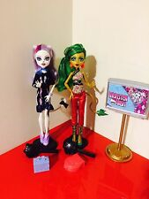 Monster High Doll - Jinafire Long And Catrine De Mew Scaremester T3