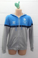 VINTAGE ADIDAS SOFT CLASSIC TREFOIL TEE T SHIRT HOODY TEAM GB GREAT BRITAIN S