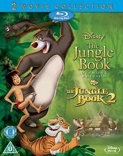 JUNGLE BOOK Bluray Movie Film Collection Part 1 2 Original Disney New Sealed
