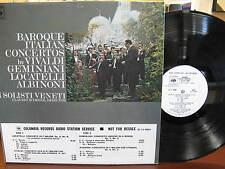 Near Mint LP - Claudio Scimone - Baroque Italian Concertos - First Pressing - NM