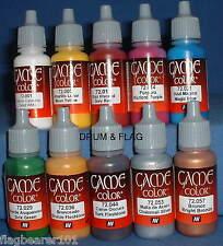 Vallejo Game Color De Pintura-Antigua Y Medieval era - 10 Set Botella-Base De Agua